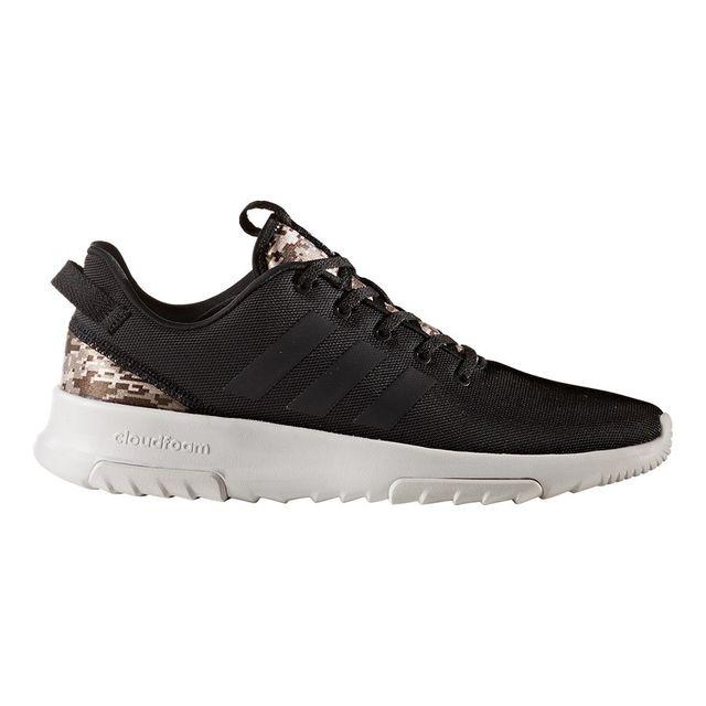 innovative design 843c3 a4542 Adidas - Chaussures adidas neo Cf Racer Tr noir gris. Description Fiche  technique. Chaussures de style running ...
