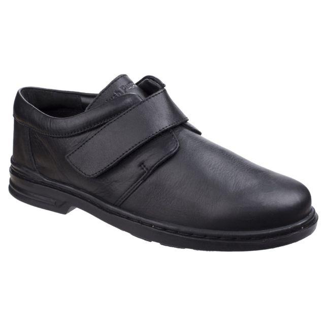 Hush Puppies Chaussures de ville Jeremy Hanston - Homme 43 Eur, Noir Utfs4513