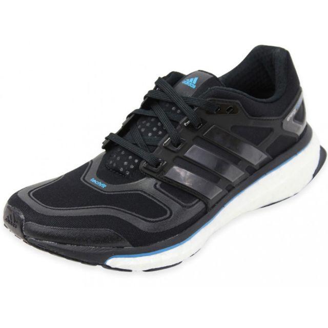 ENERGY BOOST 2 W BLK - Chaussures Running Femme Noir 37 1/3