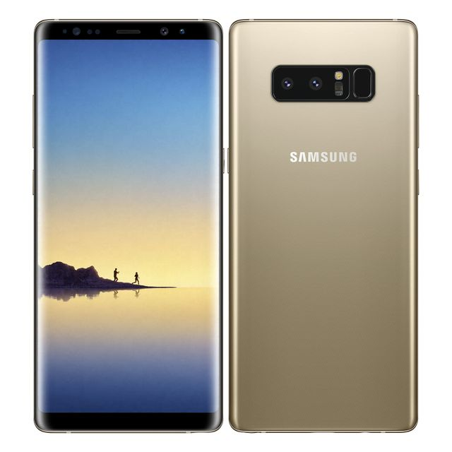Samsung - Galaxy Note 8 - Or Topaze