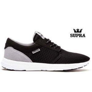 Supra - Hammer Run Black Grey White S55047 Noir - 38