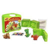 Joustra - Mallette de loisirs créatifs : Moulage dinosaures