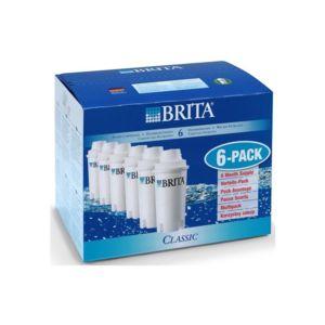 brita pack de 6 cartouches classic 100406 pas cher achat vente cartouche filtre. Black Bedroom Furniture Sets. Home Design Ideas