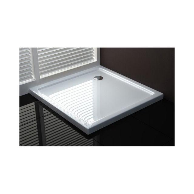 webmart receveur plateau bac a douche acrylique carr 90x90 pas cher achat vente receveur. Black Bedroom Furniture Sets. Home Design Ideas