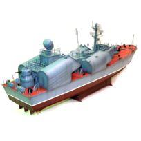 Merit - Maquette bateau : Corvette lance-missiles russe Classe Osa-1