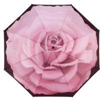 Blooming Brollies - Parapluie Pliant Galleria - Rose parfaite - Automatique