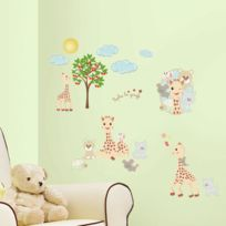 Room Mates - Stickers Sophie La Girafe Roommates Repositionnables 30 stickers