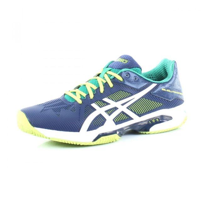 Tennis Pas Solution Gel Speed Bleu 3 Chaussures Asics 39 De FTqna7A