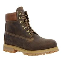 Timberland - 6in Premium cuir gras Homme-39,5-Marron