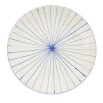 """RUE DU COMMERCE - Assiette plate gamme """"Lignes réactives"""