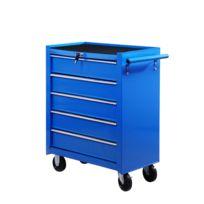 HOMCOM - Servante/caisse a outils d'atelier tiroir tools chest chariot 675x330x770 mm 05