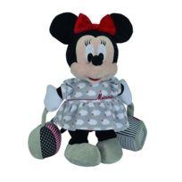 Nicotoy - Peluche d'activités éveil bébé Minnie 29 cm - Disney Baby