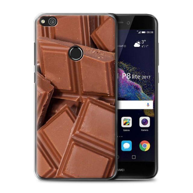 coque huawei p8 lite 2017 chocolat