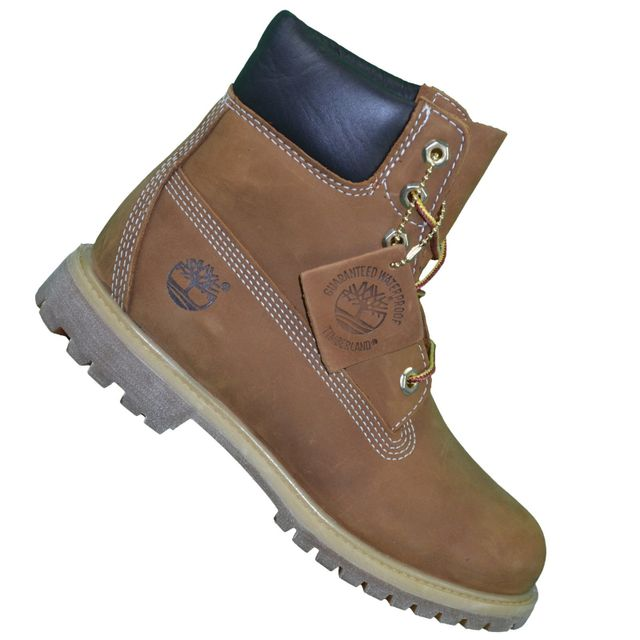 3a7f4a36ef9 Timberland - En Solde - Chaussures Boots 6 In Premium Rust 10360 - Brown  Marron - pas cher Achat   Vente Boots femme - RueDuCommerce