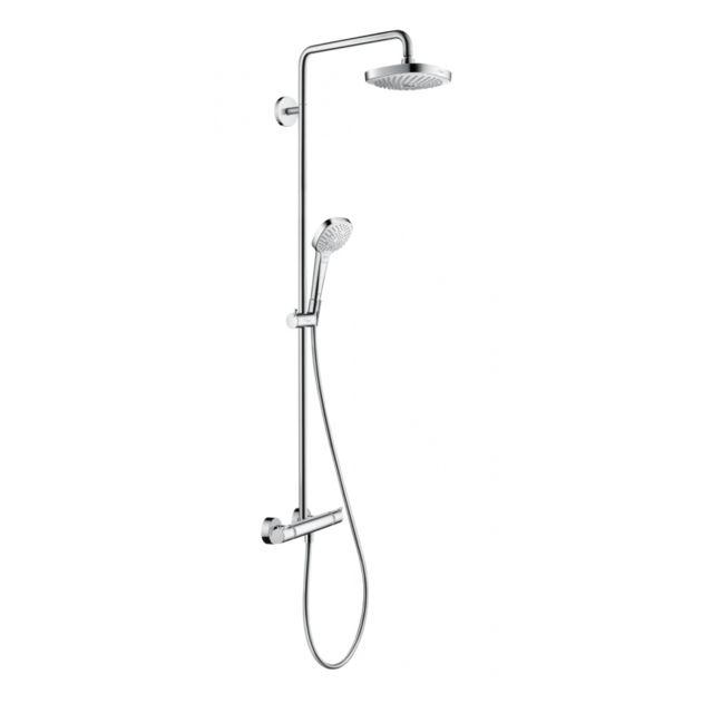 hansgrohe colonne de douche croma select e180 showerpipe. Black Bedroom Furniture Sets. Home Design Ideas