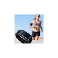 Auto-hightech - Oreillette avec écran 0.66 pouce, Bluetooth et bracelet - Noir