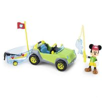 Mickey Mouse Club House - Mickey - Voiture et bateau Mickey
