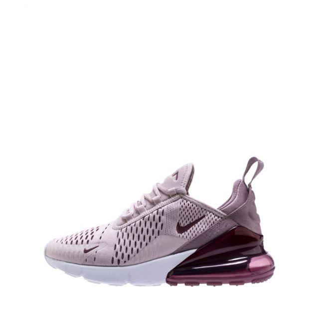 697e007eb506 Nike - Baskets W Air Max 270 - Ref. Ah6789-601 Rose - pas cher Achat / Vente  Baskets femme - RueDuCommerce