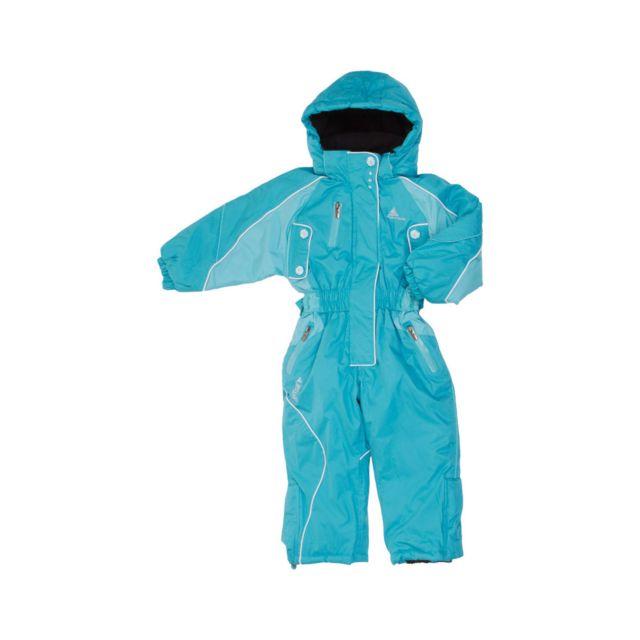 peak mountain combinaison de ski fille fiski turquoise pas cher achat vente combinaison de. Black Bedroom Furniture Sets. Home Design Ideas