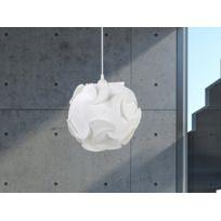 Beliani - Lampe de plafond - suspension - plafonnier - luminaire blanc - Tambre
