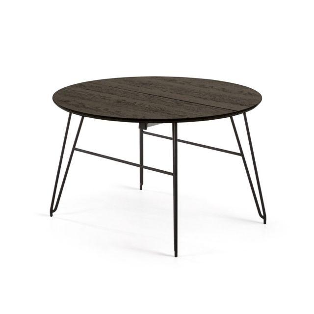 Ma Maison Mes Tendances Table A Manger Ronde Extensible 120 200