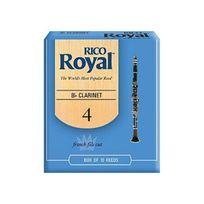 Ricoh - Rico Anches Rico Royal pour clarinette si bémol, force 4.0, pack de 10