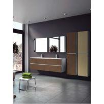 Riho - Ensemble meuble & lavabo Cambio Sentito Et 27 en bois stratifié 140X48x H 57 cm