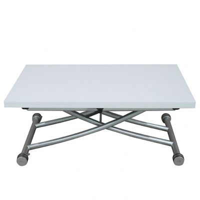 Giovanni Table basse relevable Clever Xl Blanc