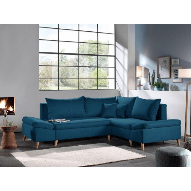 bestmobilier rosa canap d 39 angle scandinave droite. Black Bedroom Furniture Sets. Home Design Ideas