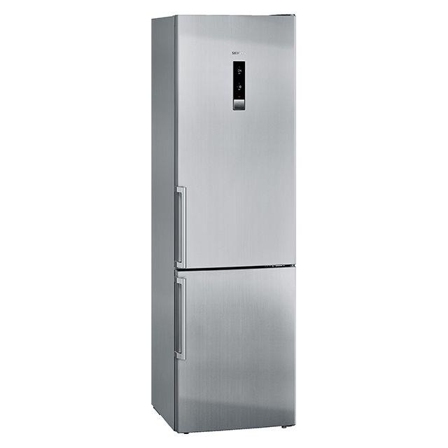SIEMENS réfrigérateur combiné 60cm 355l a++ nofrost finition inox - kg39nxi32
