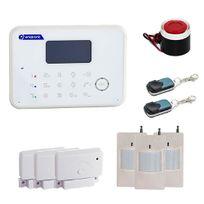 EMATRONIC - Alarme maison sans fil et filaire 2/3 pièces AL02