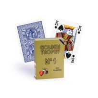 Modiano - Cartes Golden Trophy 4 index Regular bleu