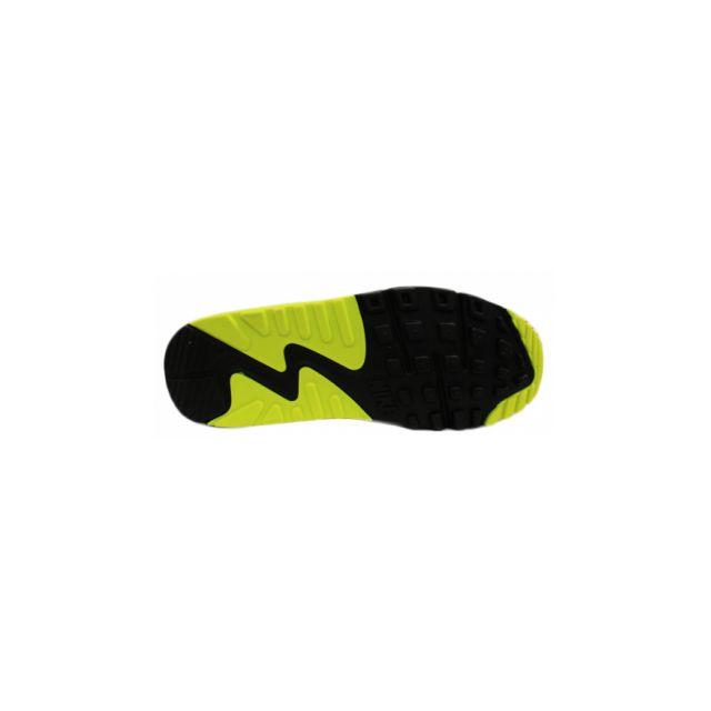 0180a2ba102a2 Nike - Basket Air Max 90 Junior Noir 724824-002 - pas cher Achat   Vente  Baskets enfant - RueDuCommerce