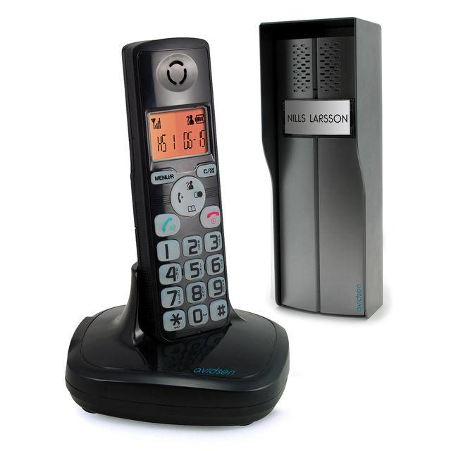 AVIDSEN - Interphone et telephone 2en1 sans fil ÖraTel 102193