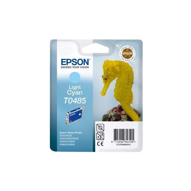 EPSON Cartouche d'encre Cyan Clair compatible Stylus Photo R200 R300 RX500 RX620 RX640 - T048540