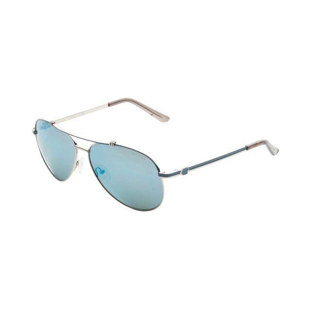Buzzao - Lunettes de soleil bleu aviateur - pas cher Achat   Vente ... 65386fa10a21