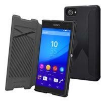 Made For Xperia - Mfx Etui Easy Folio Noir Pour Sony Xperia Z5 Compact