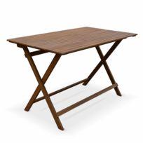 Soldes Table jardin pliante bois - Achat Table jardin pliante bois ...