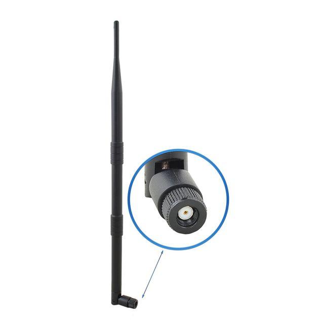 ansmann antenne wifi amovible 12dbi rp sma 38 cm pas cher achat vente adaptateur usb sans. Black Bedroom Furniture Sets. Home Design Ideas