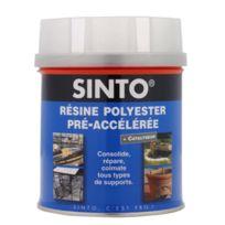 Sinto - Résine polyester Pré-accélérée Sintofer Bidon de 1000 Ml - 40001