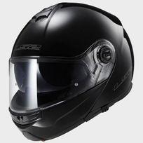 casque intégral modulable Ff325.10 Strobe noir brillant moto scooter Xl