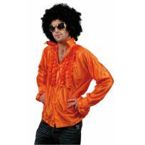 Boland - Chemise Disco Orange Homme