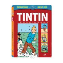 Citel Vidéo - Tintin - 3 aventures - Vol. 3 : Le Secret de la Licorne + Le Trésor de Rackham le Rouge + Le Crabe aux pinces d'or