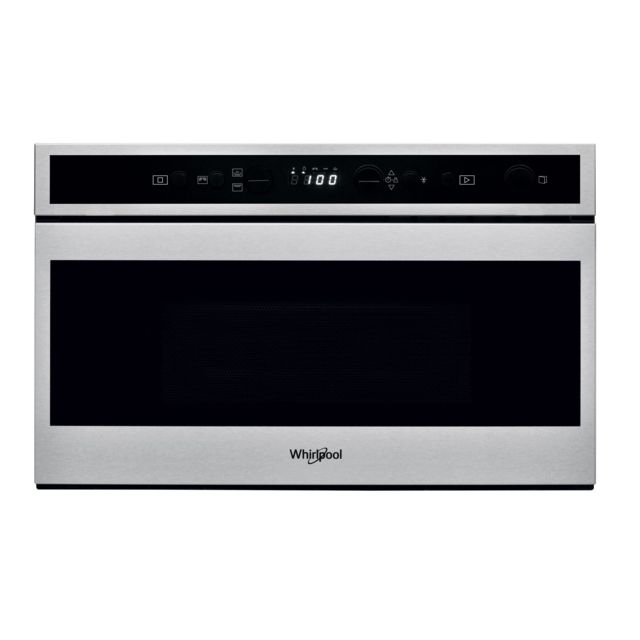 Whirlpool micro-ondes gril encastrable 22l 750w inox - w6mn840