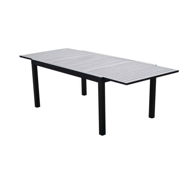 Table extensible en aluminium