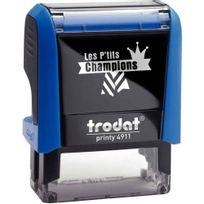 """Printy - tampon les p'tits champions, formule """"champion de français"""