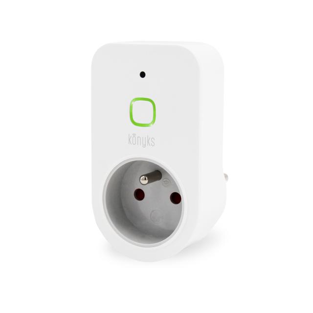 konyks prise lectrique connect e wifi priska pas cher achat vente domotique connect. Black Bedroom Furniture Sets. Home Design Ideas