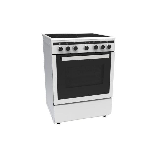 1ef84e7c6cdaa9 Continental Edison - Cecicm604ZW-Cuisiniere table induction-4 zones-Four  electrique multifonction-Catalyse-65 L-a-l 60 x H 85 cm-B Achat   Vente  Cuisinière ...