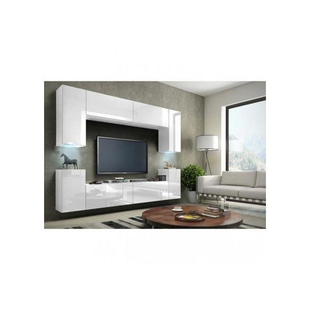 Price Factory - Meuble de salon, meuble Tv complet suspendu Concept ...