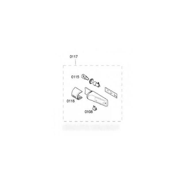 Bosch Thermostat unite de reglage pour réfrigérateur b/s/h